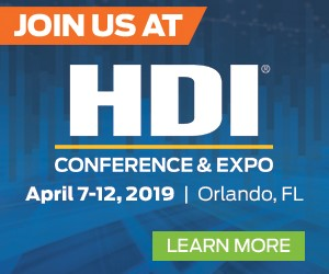 Join Andrew at the HDI Conference & Expo, April 7-12 in Orlando!