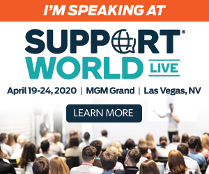 I'm Speaking At SupportWorld Live
